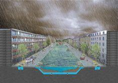 Copenhagen_Cloudburst-Masterplan-Atelier-Dreiseitl-19 « Landscape Architecture Works | Landezine