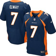 John Elway Elite Jersey-80%OFF Nike John Elway Elite Jersey at Broncos Shop. (Elite Nike Men's John Elway Navy Blue Jersey) Denver Broncos Alternate #7 NFL Easy Returns.