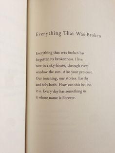 Poem by Mary Oliver | faith | worship | vision | beauty