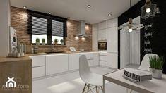 kitchen interior design ~ rustic style ~ house near Krakow Kitchen Room Design, Modern Kitchen Design, Interior Design Kitchen, Kitchen Decor, Kitchen Rustic, Küchen Design, House Design, Kitchen Modular, Minimalist Home Interior