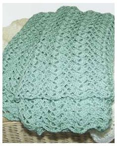 Free Lace Blanket Crochet Pattern