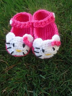 Crochet Baby Bloomers, Baby Shoes, Kids, Hello Kitty Baby, Spinning, Store, Hand Made, Deserts, Zapatos