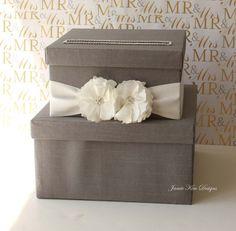 wooden wishing well wedding card box assort sayings handmade