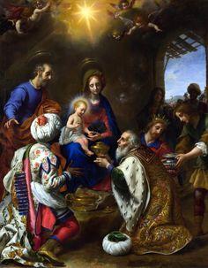 Carlo Dolci, The Adoration of the Magi, 1649