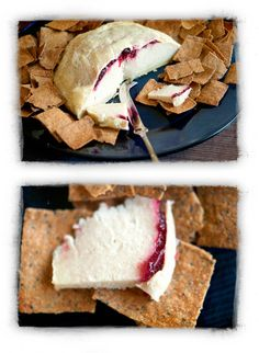 Vegan Brie recipe from http://dirtyhippiebohemiangirl.wordpress.com/2012/12/21/someting-borrowed-holiday-dishes/.