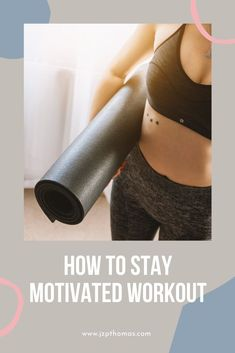 Tips to help you stay motivated to workout. Group Fitness, Fitness Tips, Fitness Motivation, Lose Weight At Home, Need To Lose Weight, Fun Workouts, At Home Workouts, Weights Workout For Women, Home Exercise Routines