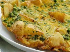 Italienisches Kartoffelomelett mit Erbsen ist ein Rezept mit frischen Zutaten aus der Kategorie Omelett. Probieren Sie dieses und weitere Rezepte von EAT SMARTER!