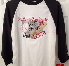 A personal favorite from my Etsy shop https://www.etsy.com/listing/223639965/st-louis-cardinals-its-all-about-that