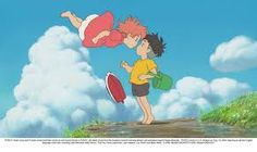 ponyo y el secreto de la sirenita - A mi megusta Ponyo, cuando es pez y cuando es humana, hasta cuando es mitad y mitad.