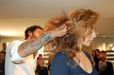 On stage Stage, Dreadlocks, Hair Styles, People, Beauty, Beleza, Dreads, Hairdos, Hairstyles