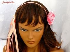 Rose Headband by JewelryinBox on Etsy, $50.00