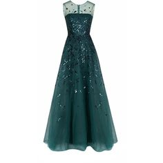 Rami Al Ali Fully Embellished Tulle Gown ($2,400) ❤ liked on Polyvore featuring dresses, gowns, blue embellished dress, tulle ball gown, tulle evening gown, embellished dress and tulle evening dress