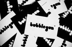 Bubblegun - Logo design and visual identity for my upcoming apparel line.