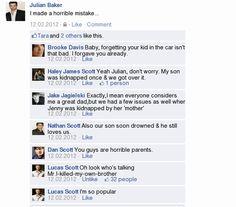 OTH meet Facebook LOL.