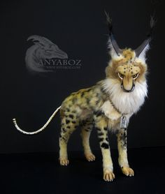 Dodge the Cheetah Room Guardian by AnyaBoz.deviantart.com on @deviantART
