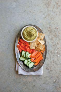 Easter Appetizers: Split Pea Hummus