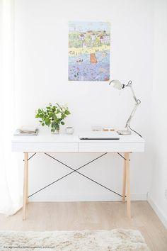 Top Seller! Biurko BASIC – Minko Office Desk, Furniture, Design, Home Decor, Top, Console, Desk Office, Decoration Home, Desk