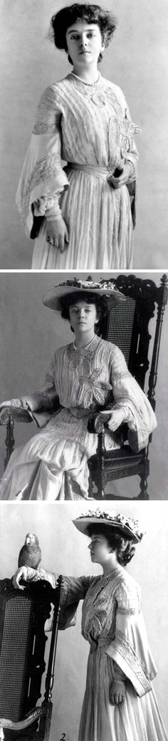 Alice Roosevelt Longworth, ca. 1900-1910. She lived from 1884-1980. Eldest child of Pres. Theodore Roosevelt.