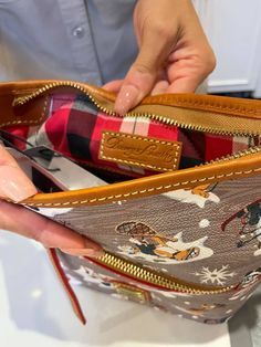 The Winter Just Got More Stylish With The Walt's Holiday Lodge Dooney & Bourke Collection! - bags -