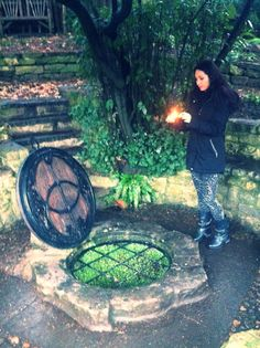 Getting my Wicca on at The Chalice Well - Glastonbury - Magic - Pagan - Wicca