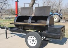 Barrel Smoker, Bbq Pit Smoker, Diy Smoker, Homemade Smoker, Barbecue Grill, Bar B Que Grills, Smoker Designs, Bbq Smoker Trailer, Bbq Equipment