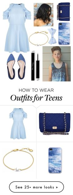 """Untitled #612"" by tumblr-outfits12 on Polyvore featuring New Look, Missoma and Chanel"
