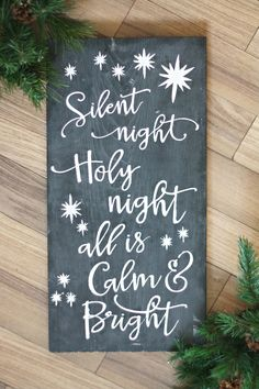 The Pretty Life Girls: DIY Christmas Chalkboard Sign