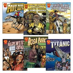 Graphic History Book Set (Set of 6)