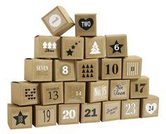 fun ideas for an advent calendar Last Christmas, Christmas Countdown, Christmas Gifts, Xmas, Present Wrapping, Box, Advent Calendar, Holiday Decor, Instagram Posts