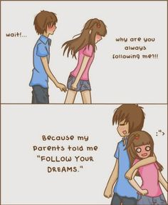 Top 30 love quotes with pictures. Inspirational quotes about love which might inspire you on relationship. Cute love quotes for him/her Cute Couple Comics, Couples Comics, Cute Couple Memes, Beauty Family, Cute Stories, Cute Love Quotes, Cute Anime Couples, Cute Relationships, Funny Cute