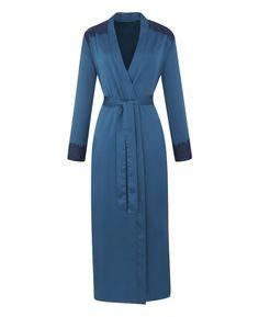 Joanna Hope Satin Wrap Gown