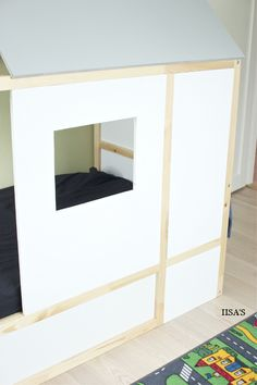IISA'S: kids room, diy, ikea kura bed