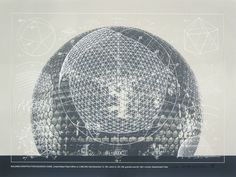 Buckminster Fuller and Chuck Byrne, Building Construction/Geodesic Dome, United States Patent Office