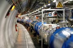 general view of the Large Hadron Collider (LHC) experiment during a media visit at the Organization for Nuclear Research (CERN)