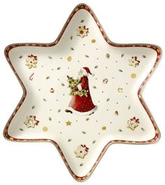 Star Bowl from Winter Bakery Delight- Villeroy & Boch. May have to just get the bowl for fun.