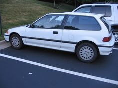 3rd Car: 1990 Honda Civic Si (Black). It had the best stereo system I've ever owned.