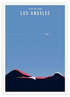 Los Angeles - Thomas Danthony Illustration