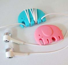 Adorable Animalistic Cable Wraps http://www.trendhunter.com/trends/earphone-cable-wraps