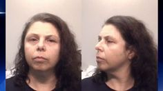 """#womandv """"..Veridiana Pardo Meo Erbskorn, 47, told Coweta County sheriff's officials that her son was going through a """"rock-n-roll stage""""... and that she didn't approve.   The sheriff office confirmed to Channel 2 Action News that she used the steel wool cleaning pad to remove makeup from her son's face and eyes. """""""