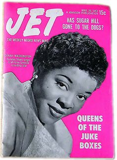 Dinah Washington - Queen of the Jukebox - Jet Magazine March 26, 1953