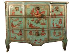 Chinoiserie chest from Polly McArthur and Associates in Seattle