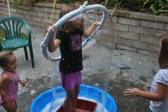 Bubble Party- lots of bubble recipes and ideas