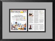 framing newspaper articles