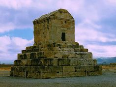 pasargad.the tomb of Cyrus the Great