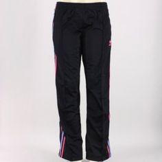 Adidas firebird donne 'pantaloncini neri superpink / donne