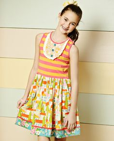 Matilda Jane Clothing - Such an adorable dress! Butterfly House Ballet Dress #matildajaneclothing #mjcdreamcloset