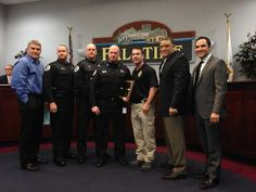 We have a great relationship with Palatine PD, and we appreciate all they do.
