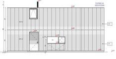 elewacje domów nowoczesnych Lockers, Locker Storage, Floor Plans, Cabin, Building, Furniture, Design, Exo, Home Decor