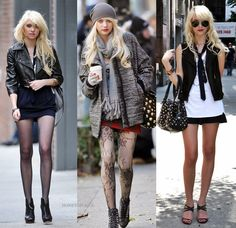 All I want in life is the closet of the character Jenny Humphrey from Gossip Girl. That's all. Oh. And to be that skinny so I can actually wear the clothes. Duh.