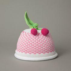 Pink Gingham Cherries